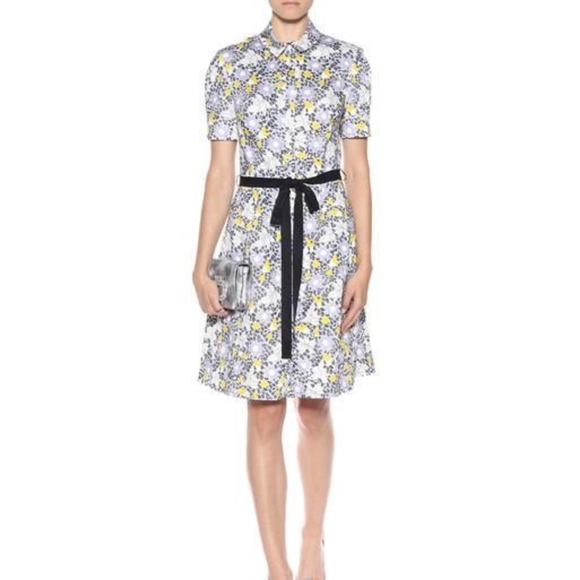 9fc6b0de1 Carolina Herrera Dresses | Nwt Cotton Floral Shirt Dress | Poshmark